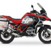 BKIT 3687 BMW R1200GS LC Adventure Racing Red HP Edition Side Tank Fender Stickers with Full Frame Panniers Red 01