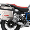 BKIT 3692 BMW R1250GS Adventure Ice Grey HP Edition Side Tank Fender Stickers with Pyramid Frame Panniers Blue 03