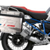 BKIT 3693 BMW R1250GS Adventure Ice Grey HP Edition Side Tank Fender Stickers with Full Frame Panniers Blue 03