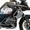 BKIT 3698 BMW R1250GS Adventure Style Exclusive HP Edition Side Tank Fender Stickers with Pyramid Frame Panniers Blue 02