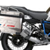 BKIT 3698 BMW R1250GS Adventure Style Exclusive HP Edition Side Tank Fender Stickers with Pyramid Frame Panniers Blue 03