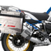 BKIT 3703 BMW R1250GS Adventure Style HP Silver Tank HP Edition Side Tank Fender Stickers with Subrame Panniers Blue 03