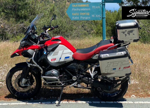 BMW R1200GS LC Adventure Racing Red Style HP