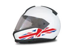 HEL 4009 BMW System 6 Helmet UK Flag Stickers
