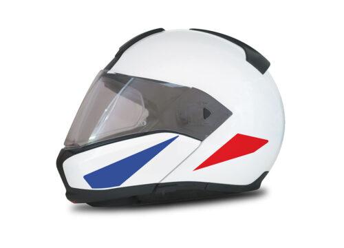 HEL 4014 BMW System 6 Helmet France Flag Stickers