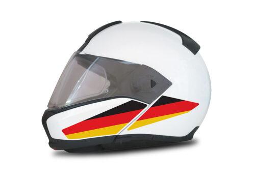 HEL 4015 BMW System 6 Helmet Germany Flag Stickers