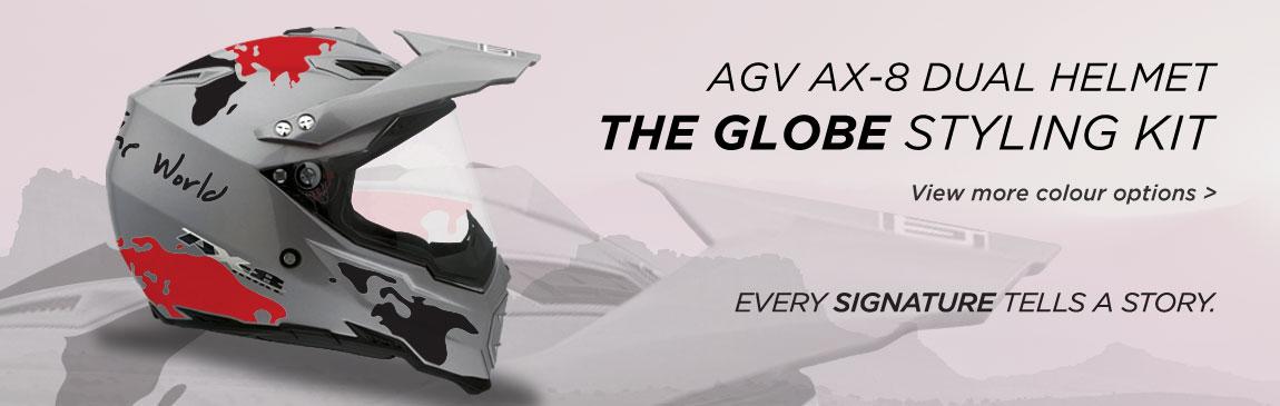 AGV AX8 Website Slider