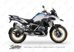 BKIT 3751 BMW R1250GS Style HP Dazzle Gray Variations Stickers Kit 01