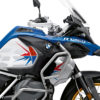BKIT 3756 BMW R1250GS Adventure Style HP Spike V2 Red Blue Stickers Kit 02