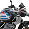 BKIT 3757 BMW R1250GS Adventure Style HP Spirit Lines V1 Red Blue Stickers Kit 02