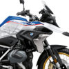 BKIT 3772 BMW R1250GS Style HP Compass V1 Grey Side Tank Stickers Kit 02