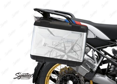 BKIT 3777 BMW Vario Panniers Compass Stickers Kit 02