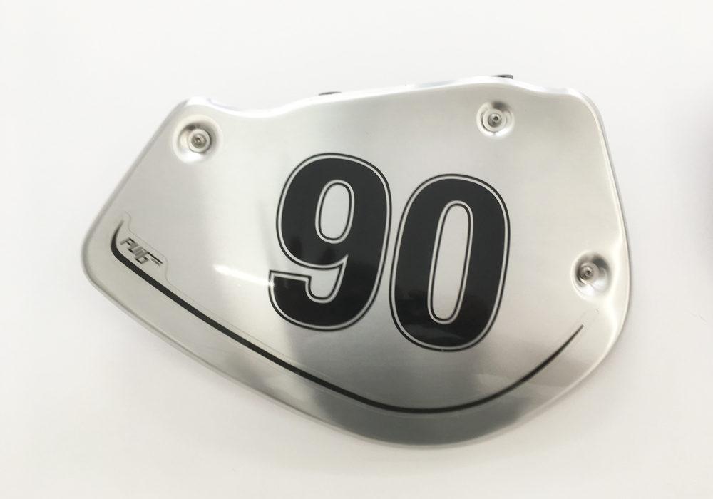 BPRF 3726 Puig BMW RnineT Alluminium Side Covers 90 Number Sticker Kit 03