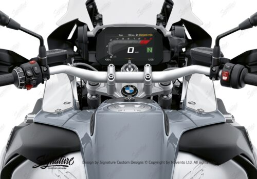 BPRF 3729 BMW R1200GS R1250GS Adventure Wind Deflectors Winglets Protective Film 01