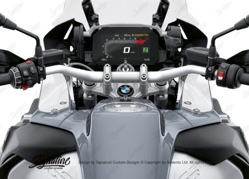 BPRF 3729 BMW R1200GS R1250GS Adventure Wind Deflectors Winglets Protective Film 01