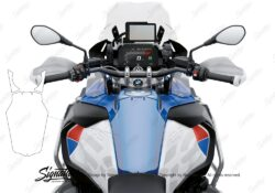 BPRF 3806 BMW R1250GS Adventure Top Tank Protective Film 01