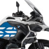 BSTI 3766 BMW R1200GS LC Adventure Alpine White Side Tank Wrap with GS Lines Stickers Cobalt Blue 02