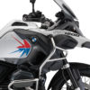 BKIT 3790 BMW R1200GS Adventure Alpine White Spike V2 Red Blue Stickers Kit 02