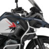 BKIT 3799 BMW R1200GS LC Adventure Ocean Blue Spike V2 Red Black Stickers Kit 02