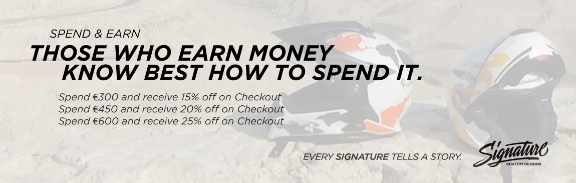 Signature Spend Earn Website Slider