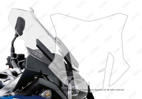 BPRF 1752 BMW GSA Windscreen Protective Film 2