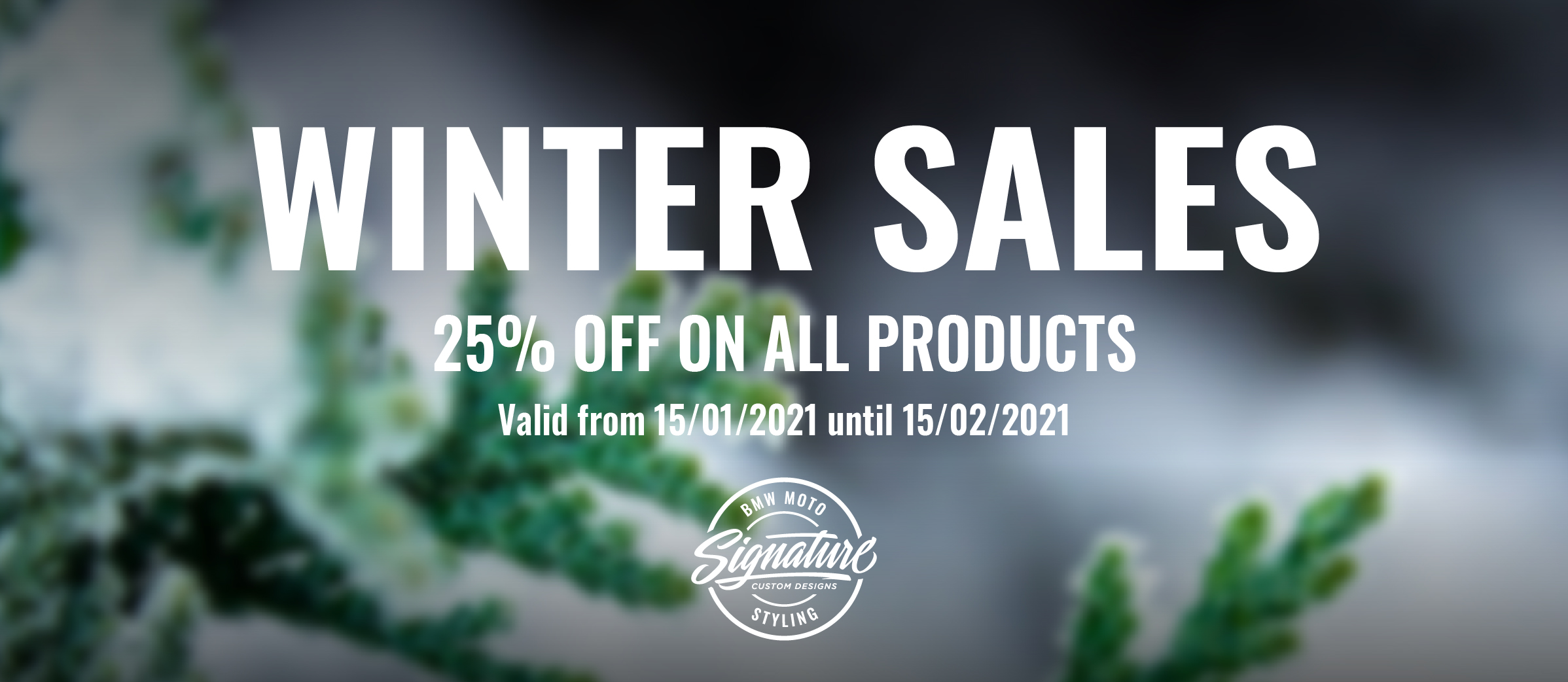 Winter Sales Jan 2021 Website Slider 1150 x 365