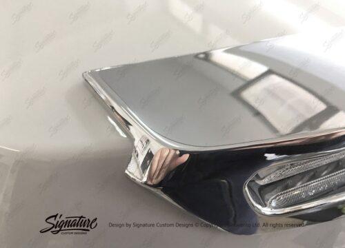 BMW R1250RT Topbox Chrome Protective Films 01