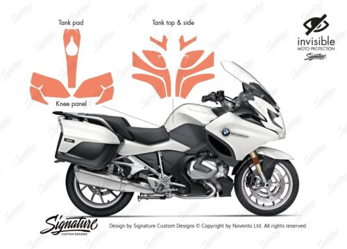 BPRF 3842 BMW R1250RT Basic Package Protective Film 01