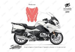 BPRF 3846 BMW R1250RT Windscreen Protective Film 01