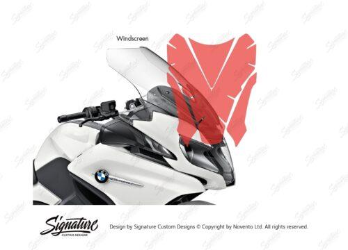 BPRF 3846 BMW R1250RT Windscreen Protective Film 02