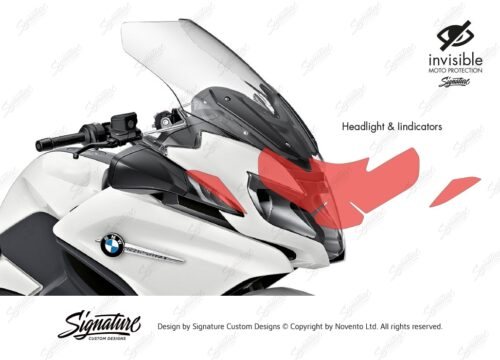 BPRF 3848 BMW R1250RT Headlight and Indicators Protective Film 02