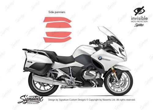 BPRF 3850 BMW R1250RT Side Panniers Protective Film 01