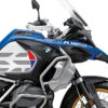 BKIT 3856 BMW R1250GS Style HP Silver Tank GS Lines Style HP Red Blue 02