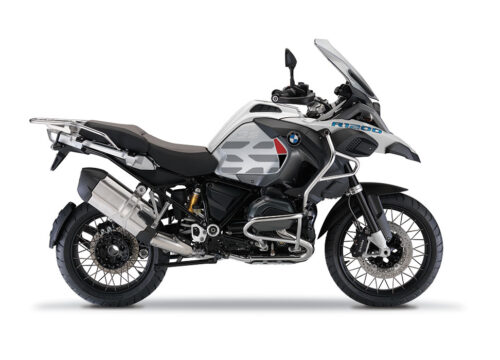 BKIT 3858 BMW R1200GS LC Alpine White GS Lines Style HP Red Black 01