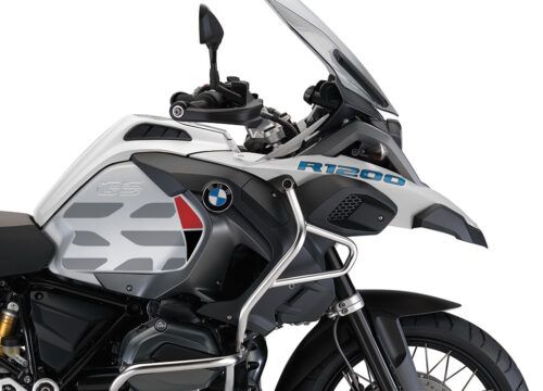 BKIT 3858 BMW R1200GS LC Alpine White GS Lines Style HP Red Black 02