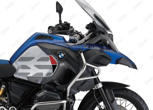 BKIT 3862 BMW R1200GS LC Racing Blue GS Lines Style HP Red Black 02