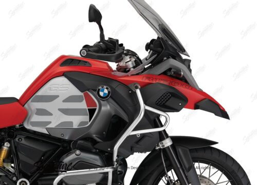 BKIT 3864 BMW R1200GS LC Racing Red GS Lines Style HP Red Black 02