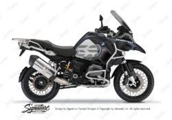 BKIT 3866 BMW R1200GS LC Ocean Blue GS Lines Style HP Grey Dark Blue 01