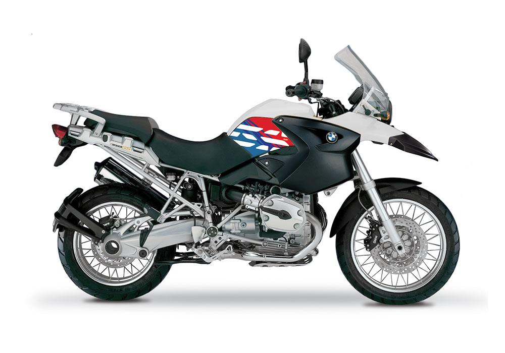 BKIT 3890 BMW R1200GS 2004 2007 Alpine White Style Anniversary LE M Sport 01 1