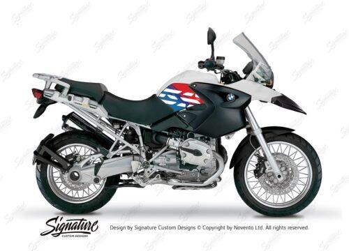 BKIT 3890 BMW R1200GS 2004 2007 Alpine White Style Anniversary LE M Sport 01
