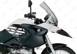 BKIT 3891 BMW R1200GS 2004 2007 Alpine White Style Anniversary LE Black 02