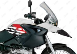 BKIT 3892 BMW R1200GS 2004 2007 Alpine White Style Anniversary LE Red 02