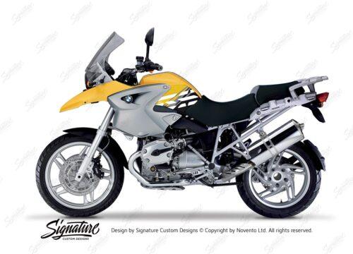 BKIT 3894 BMW R1200GS 2004 2007 Desert Yellow Style Anniversary LE Yellow 01