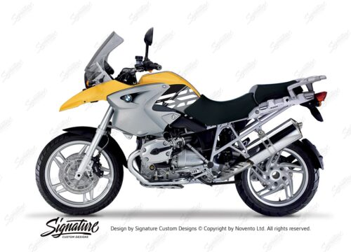 BKIT 3895 BMW R1200GS 2004 2007 Desert Yellow Style Anniversary LE Black 01