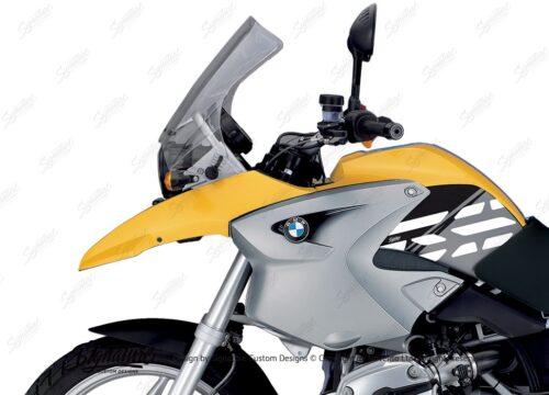 BKIT 3895 BMW R1200GS 2004 2007 Desert Yellow Style Anniversary LE Black 02