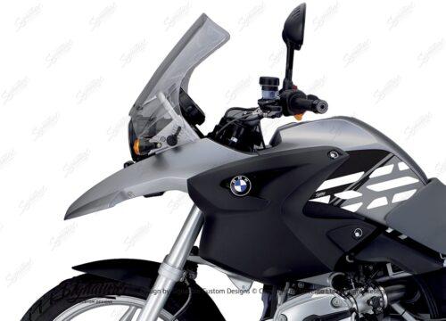 BKIT 3896 BMW R1200GS 2004 2007 Granite Grey Style Anniversary LE Black 02
