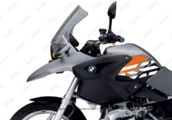 BKIT 3899 BMW R1200GS 2004 2007 Granite Grey Style Anniversary LE Orange Side Tank Stickers 02