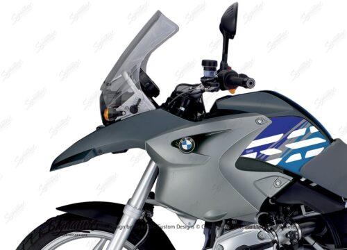 BKIT 3909 BMW R1200GS 2004 2007 Ocean Blue Style Anniversary LE Blue 02