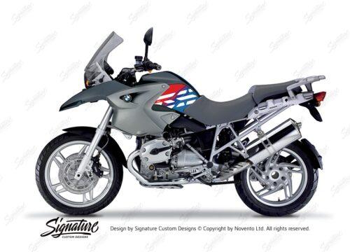 BKIT 3911 BMW R1200GS 2004 2007 Ocean Blue Style Anniversary LE M Sport 01