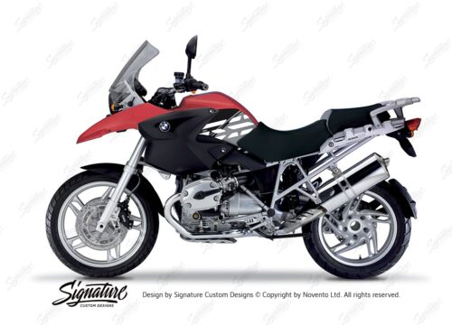 BKIT 3912 BMW R1200GS 2004 2007 Rock Red Style Anniversary LE Black 01